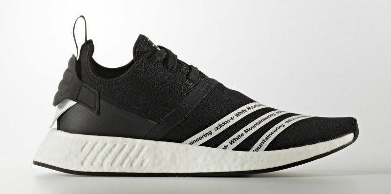 5b7cac01473c Details about Adidas x White Mountaineering NMD R2 PK Black Size 11. BB2978  ultra boost