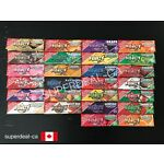 Juicy Jay's 1 1/4 Rolling Papers *28 Flavor Choices* - Pick Your Own 3 Packs