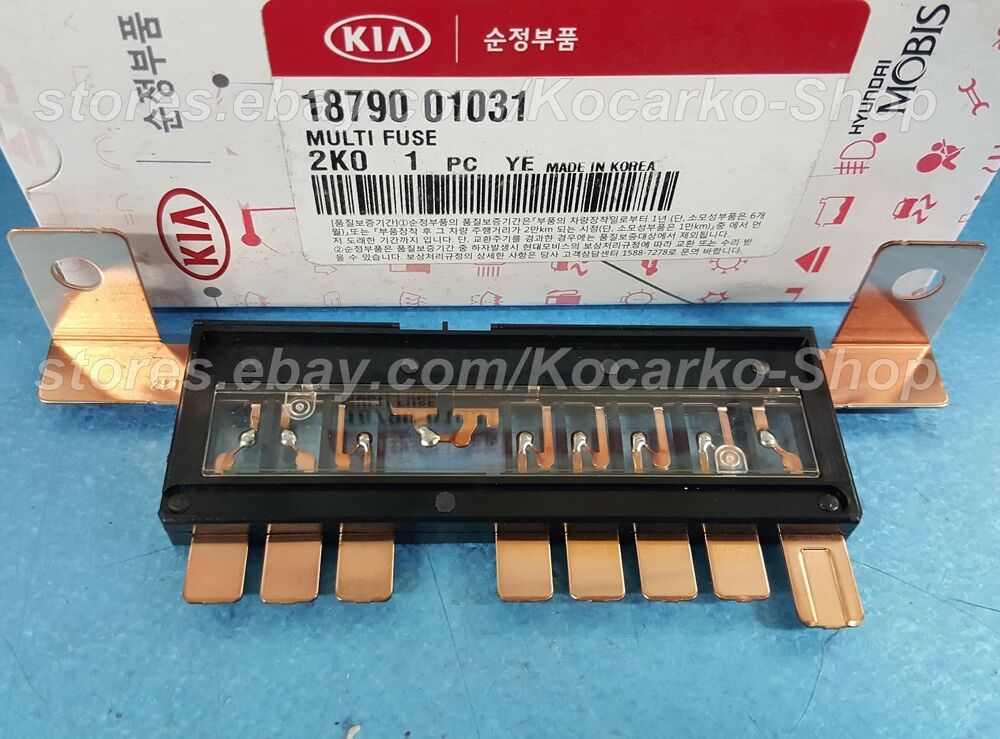 oem multi fuse kia rio 2012 soul 2009 2013 forte cerato. Black Bedroom Furniture Sets. Home Design Ideas