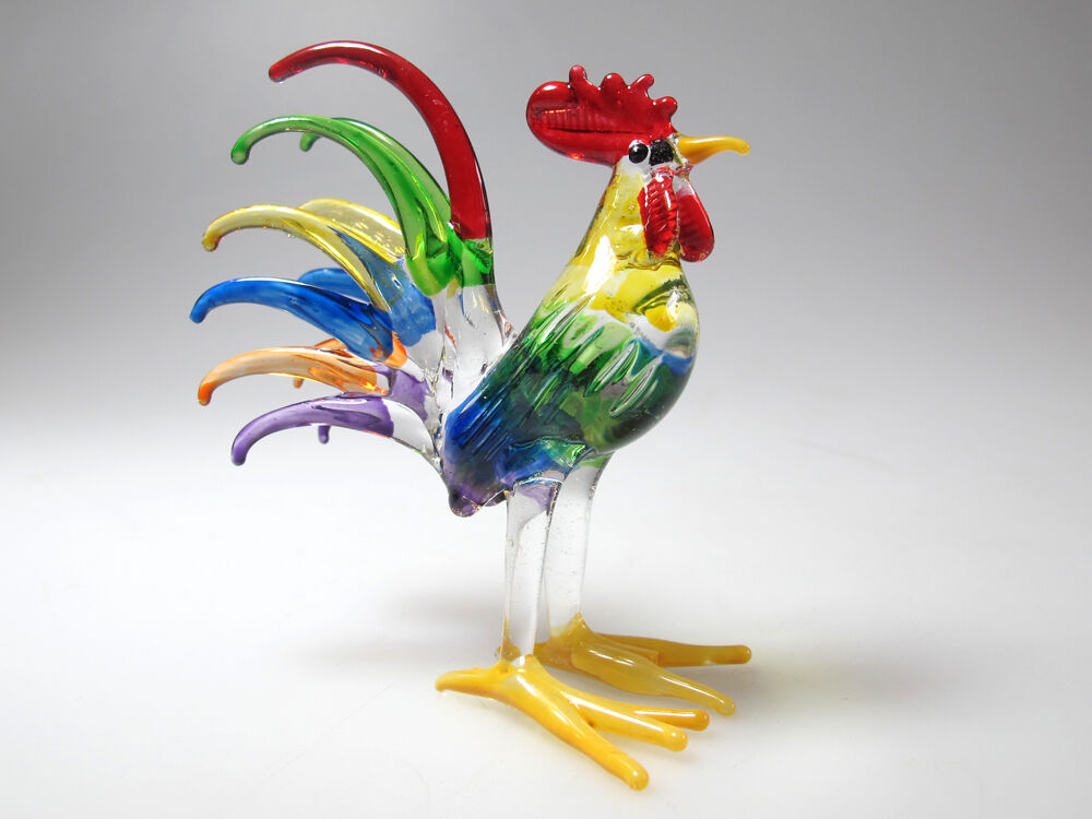 Roosters For Kitchen Decor Glass