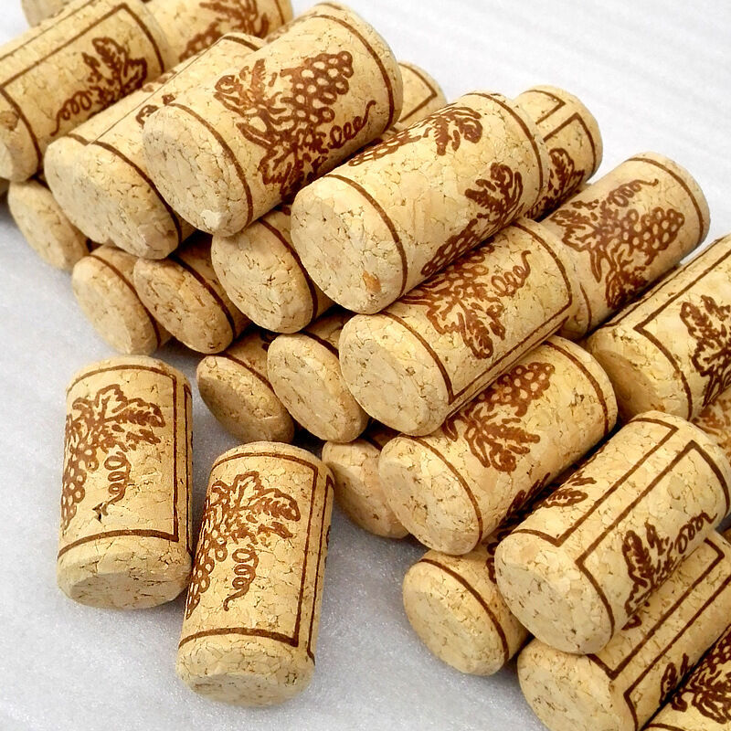 Cork People: 100 Pcs 22x44mm Natural Wine Corks Bottle Quality Stoppers