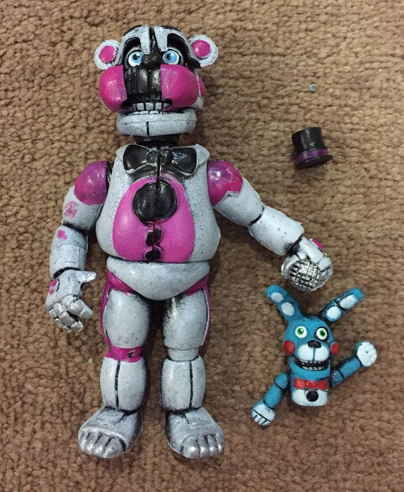 FS MEXICAN TOY FIGURE FREDDY FUNTIME FANF FIVE NIGHTS