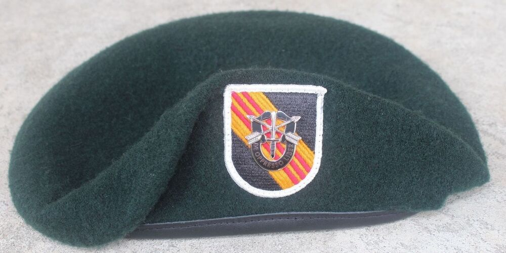 Delta Force Beret Flash Authentic New US Army ...