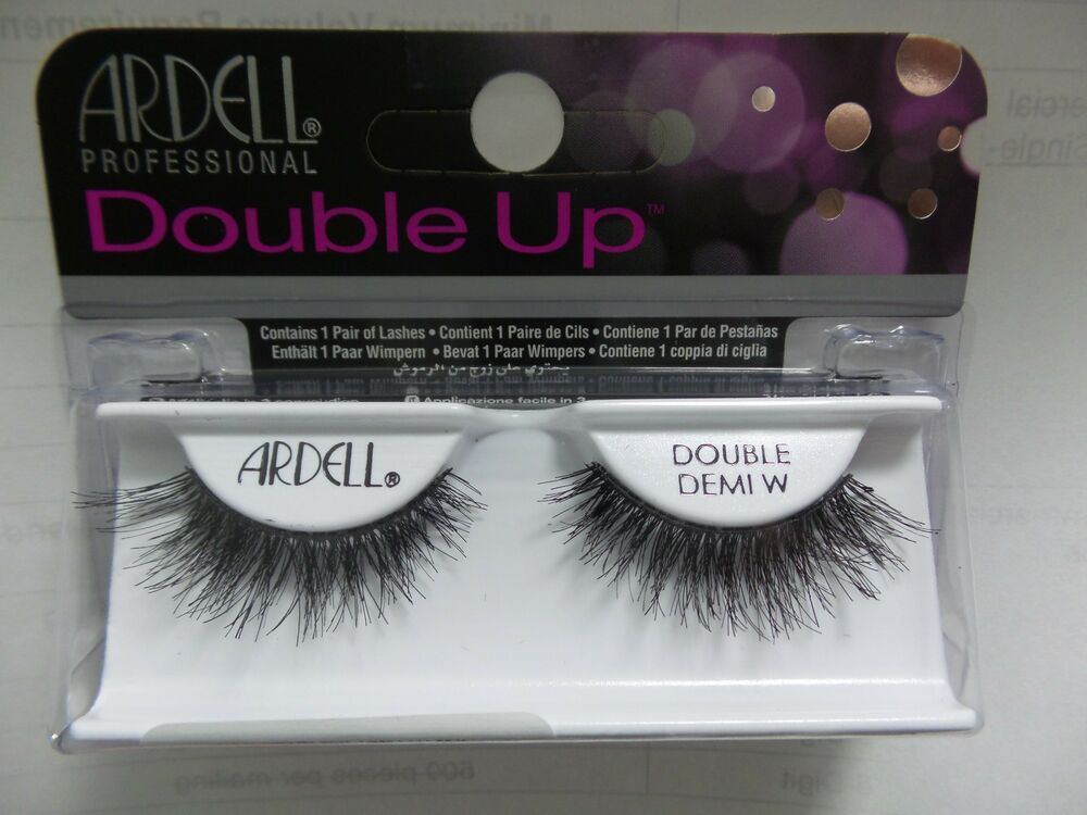 Lot Of 3 Ardell Double Up Demi Wispies Authentic Ardell