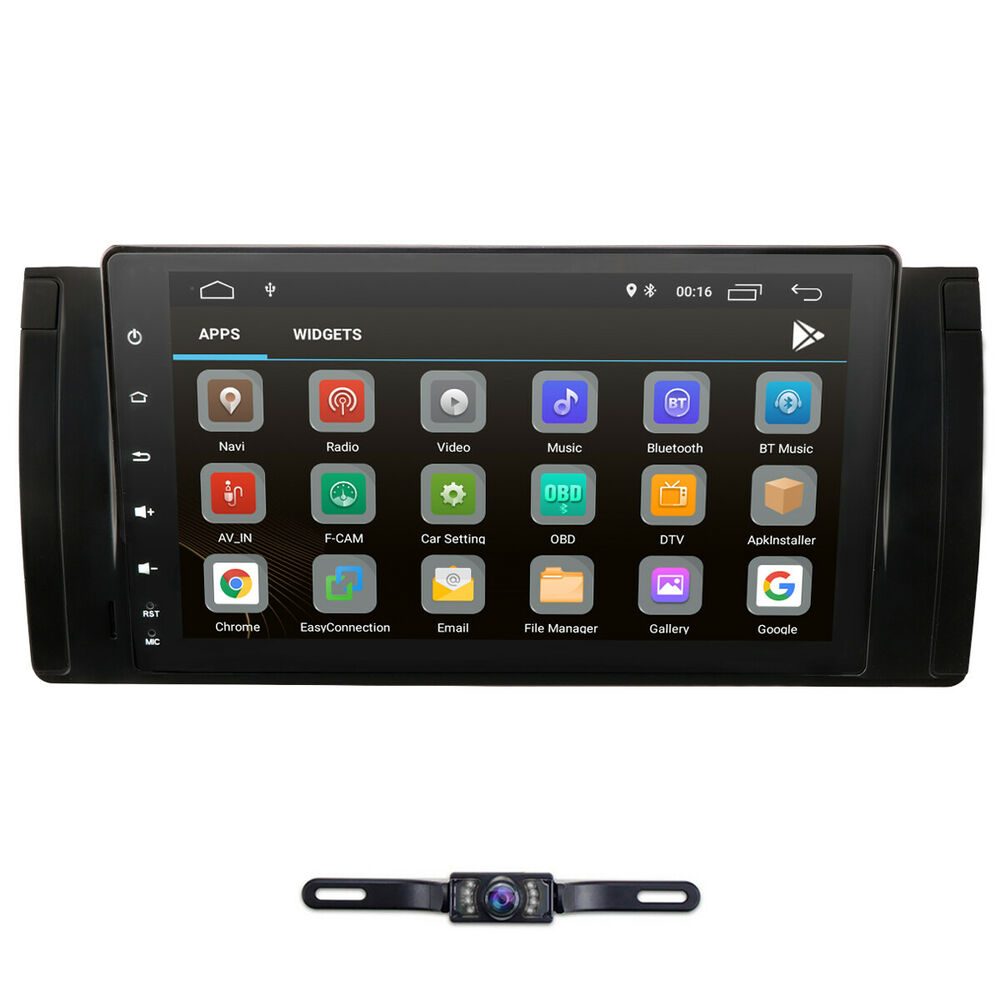 9 hd android 6 0 car stereo radio gps wifi obd2 dab tv for Ebay motors app for android