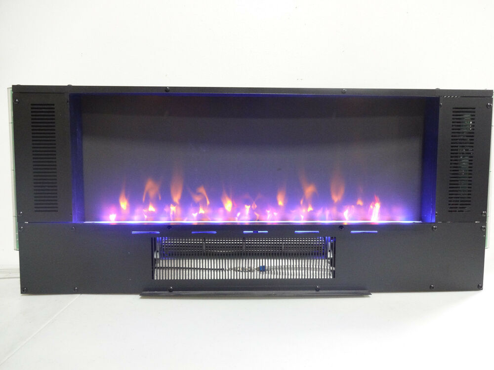 Muskoka 42in Curved Wall Mount Electric Fireplace 1049041