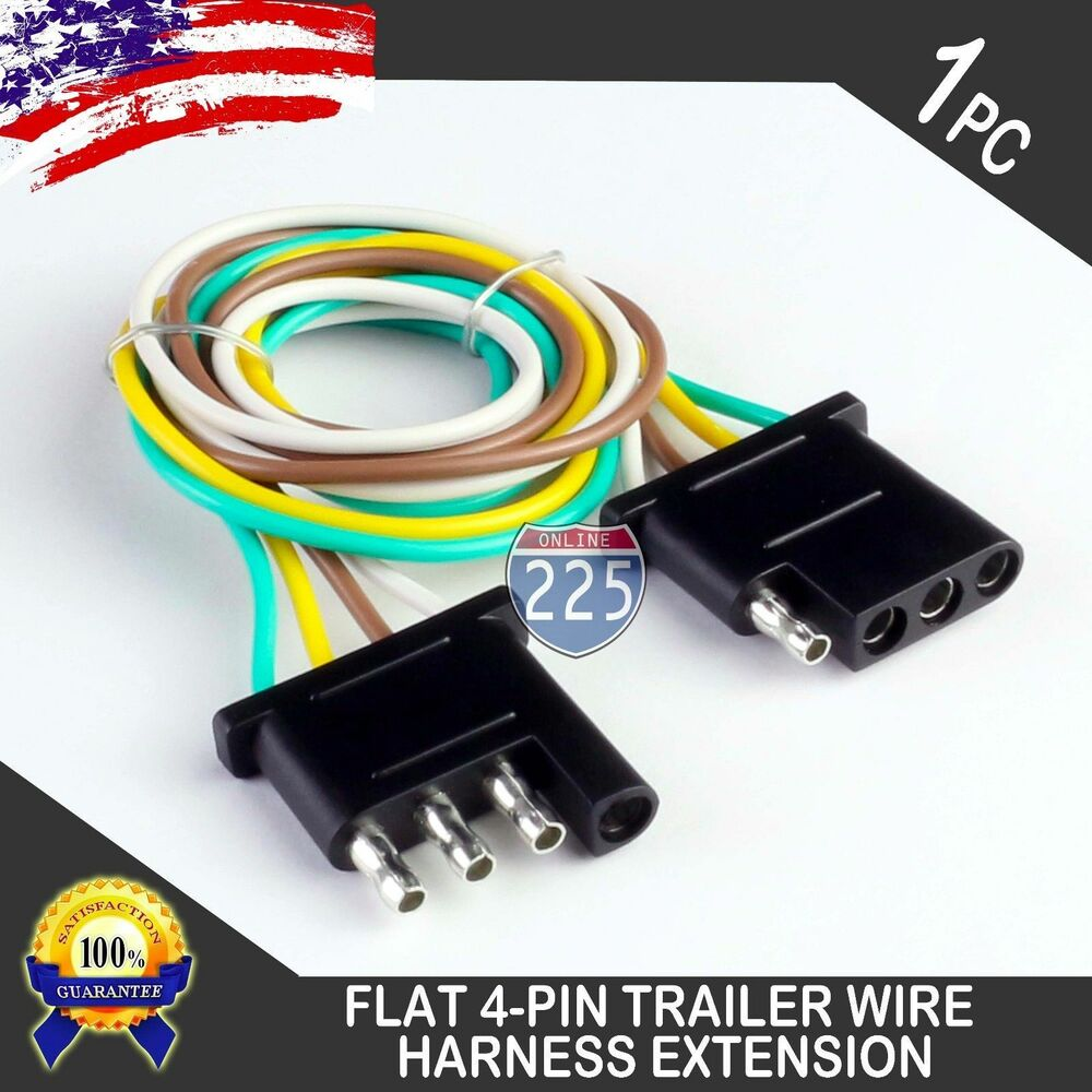 1ft Trailer Light Wiring Harness Extension 4