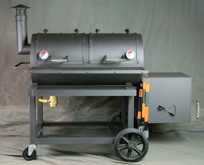 32 offset smoker heavy duty smoker texas bbq smoker barbecue smoker grill ebay. Black Bedroom Furniture Sets. Home Design Ideas