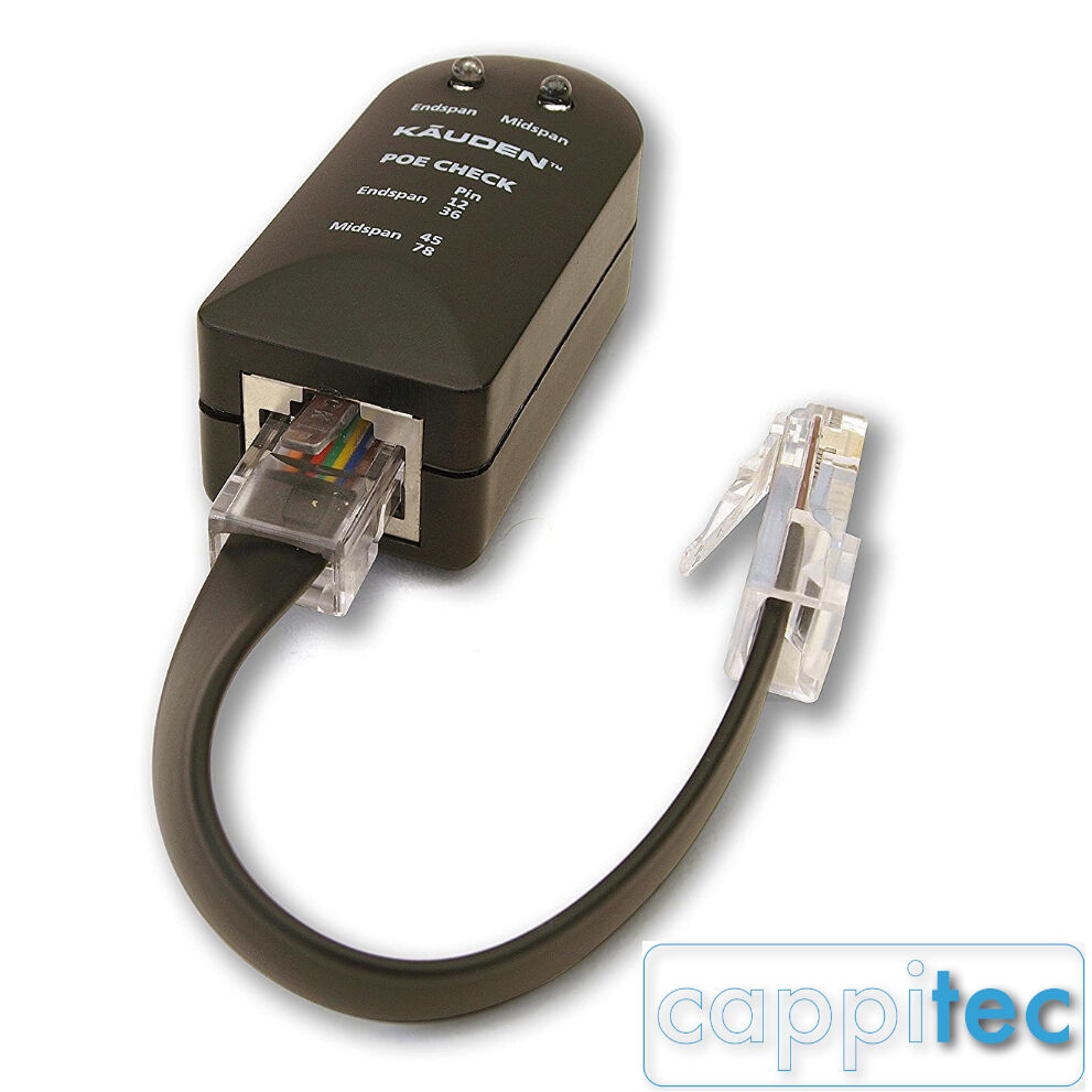Short On Cable Tester : Kauden mini poe power over ethernet tester checker with