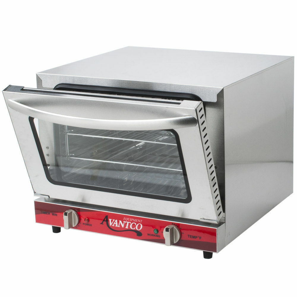 Avantco 1 4 Size Commercial Electric Convection Oven