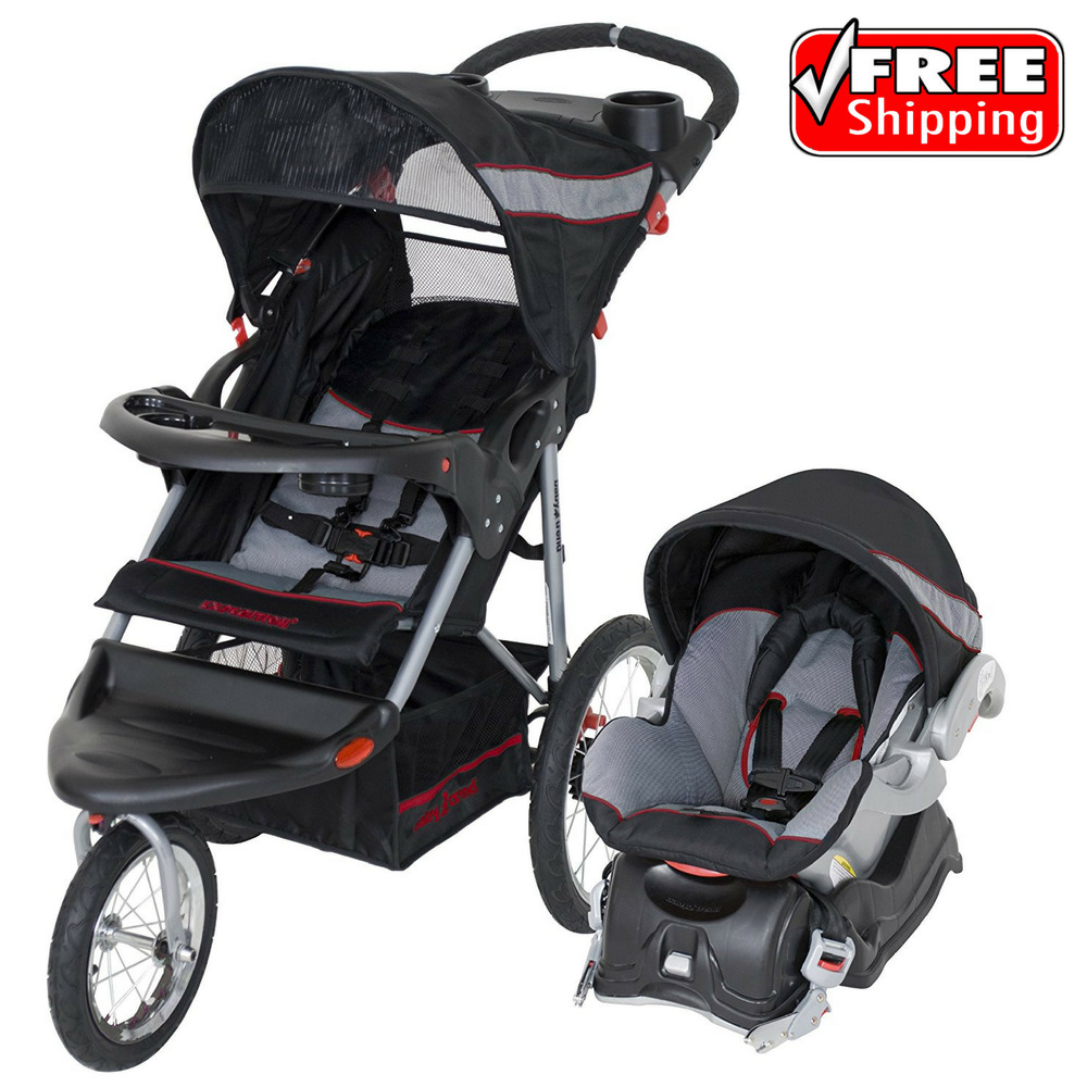 Baby Trend Expedition Jogger Stroller Travel System ...