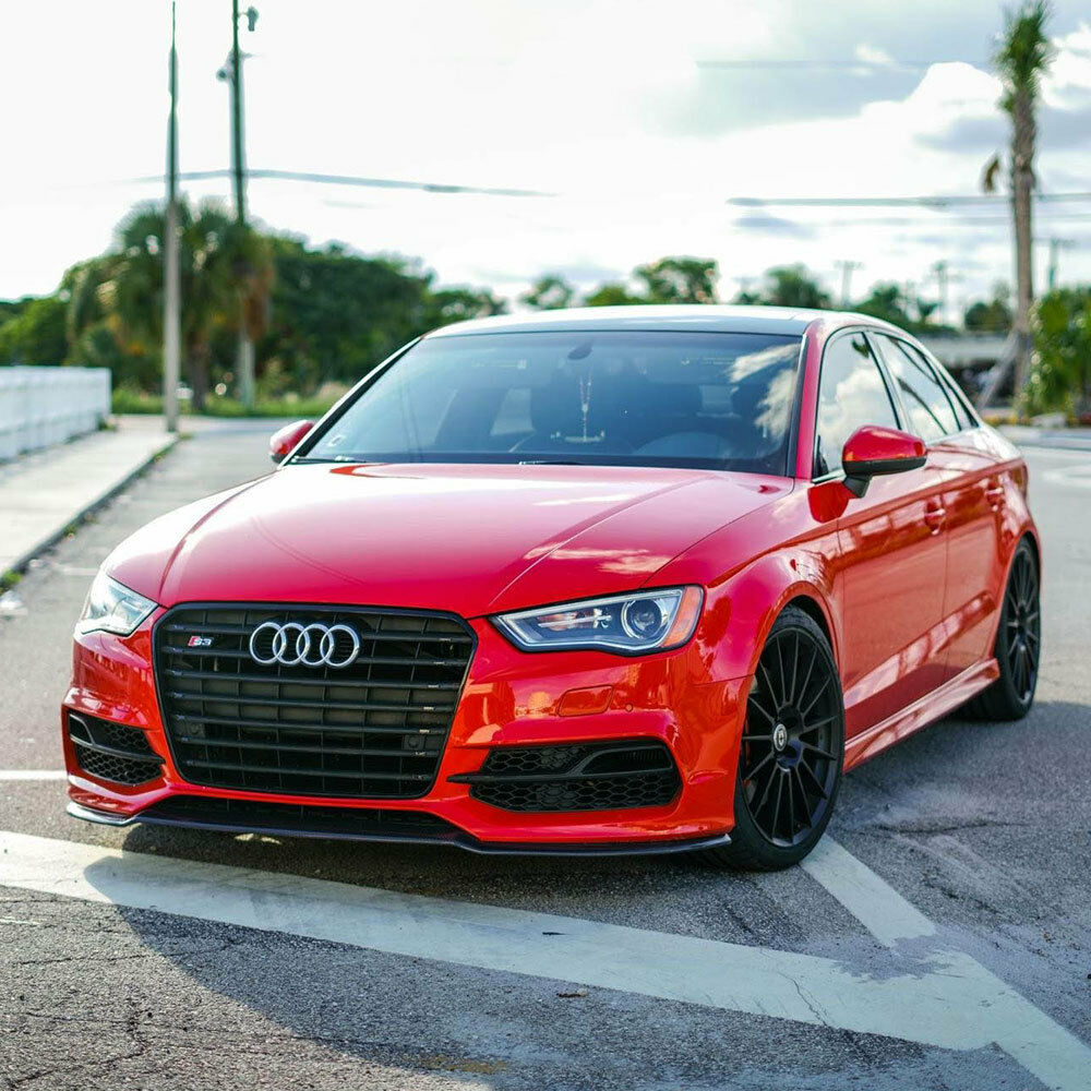 """2010 Audi A4 Performance Upgrades: 19"""" 20"""" HRE FF15 FLOW FORM BLACK STAGGERED CONCAVE WHEELS"""