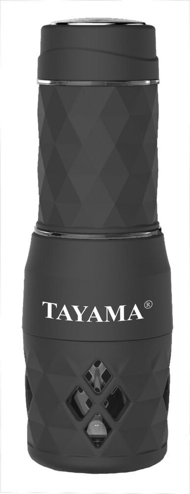 Mini Espresso Maker ~ Tayama mini portable espresso hs black cup ebay