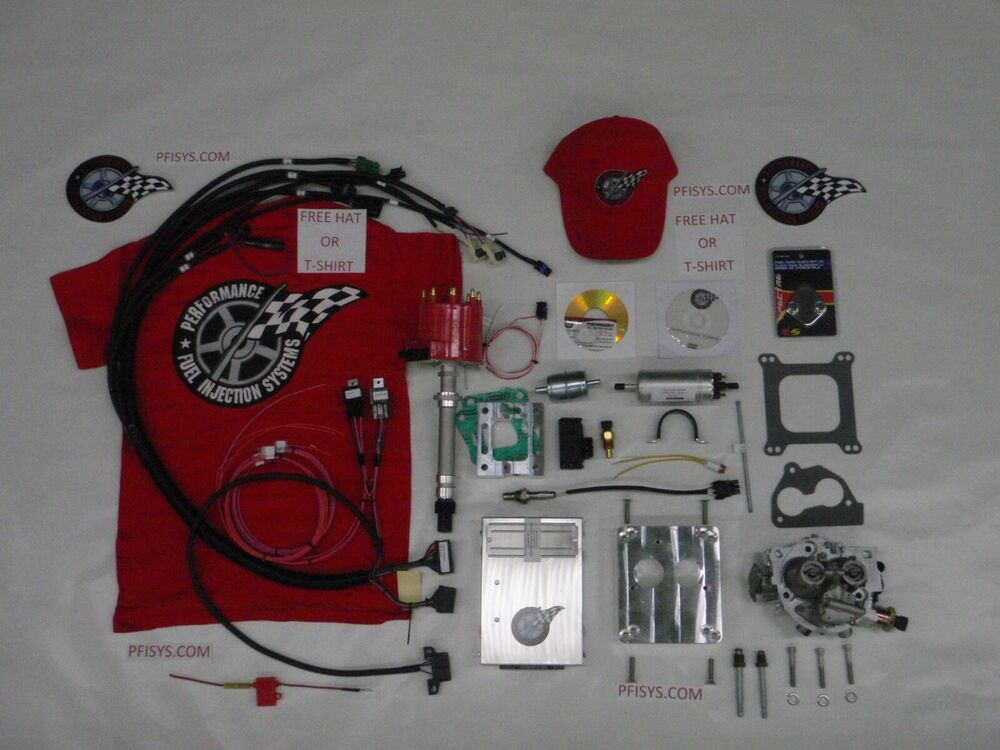 Efi Complete Tbi Fuel Injection Kit Stock Chevy 4 3l