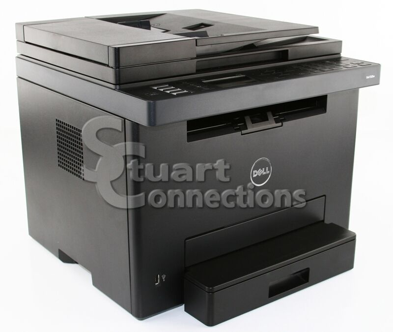 dell e525w wireless color all in one laser printer scanner copy fax with toner ebay. Black Bedroom Furniture Sets. Home Design Ideas