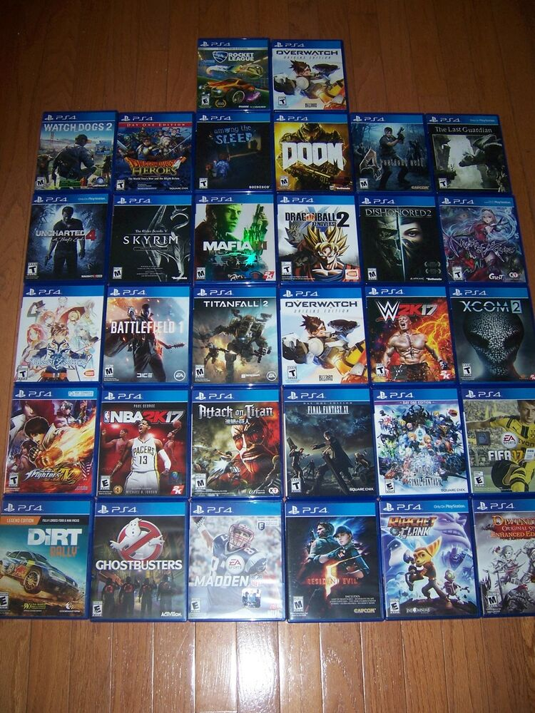 4 Games That Comes With Ps4 : Sony playstation ps replacement case box only no
