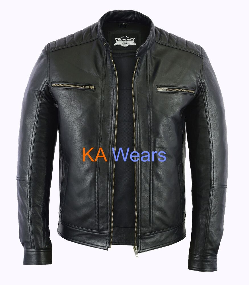 brown leather jacket mens how to wear