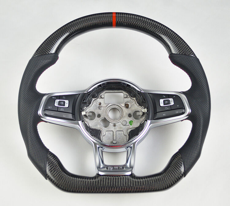 carbon leder lenkrad carbon lenkrad steering wheel vw. Black Bedroom Furniture Sets. Home Design Ideas