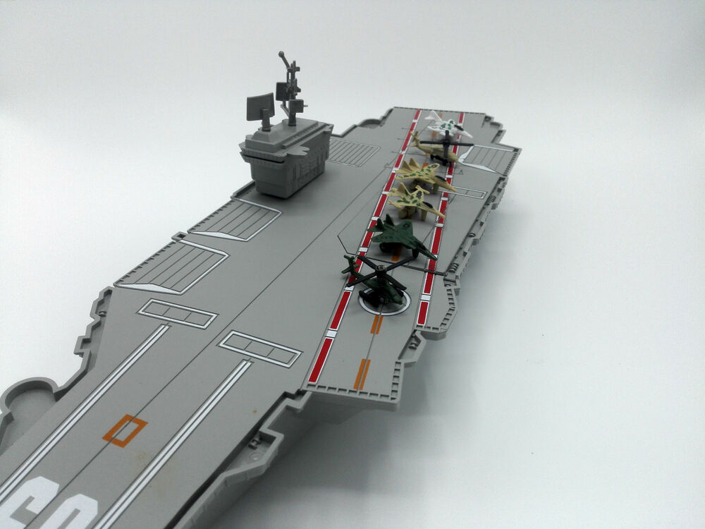 US Aircraft Carrier Model Toy Game Ship Display Warship ...
