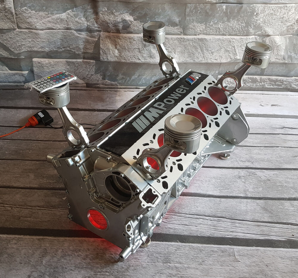 Bmw V12 Twin Turbo Motor Engine Table Couchtisch Engine