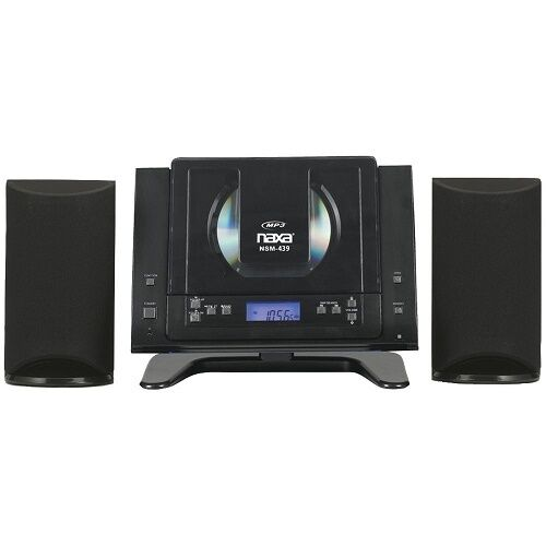 Stereo Cd System Micro Digital Bluetooth Music Audio Am Fm