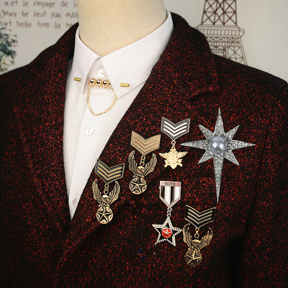 mens wedding s collar fashion arrow jewelry suit brooch pin under best brooches wholesale product men lapel bouquets women vintage chain for