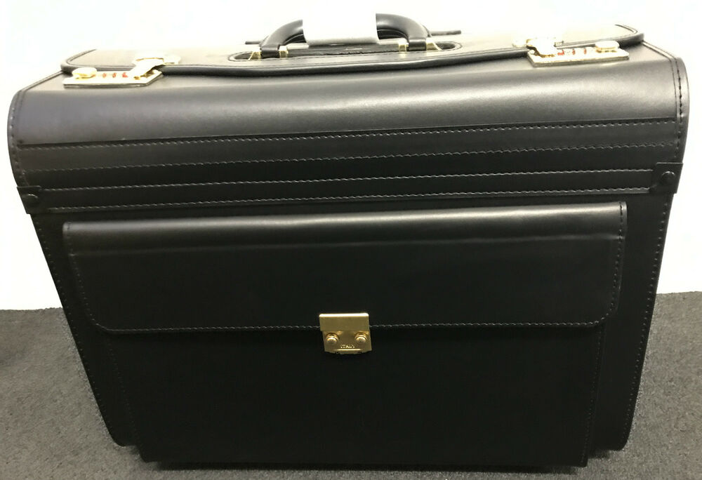 Pilot case briefcase laptop flight doctors work cabin crew for Laptop cabin bag