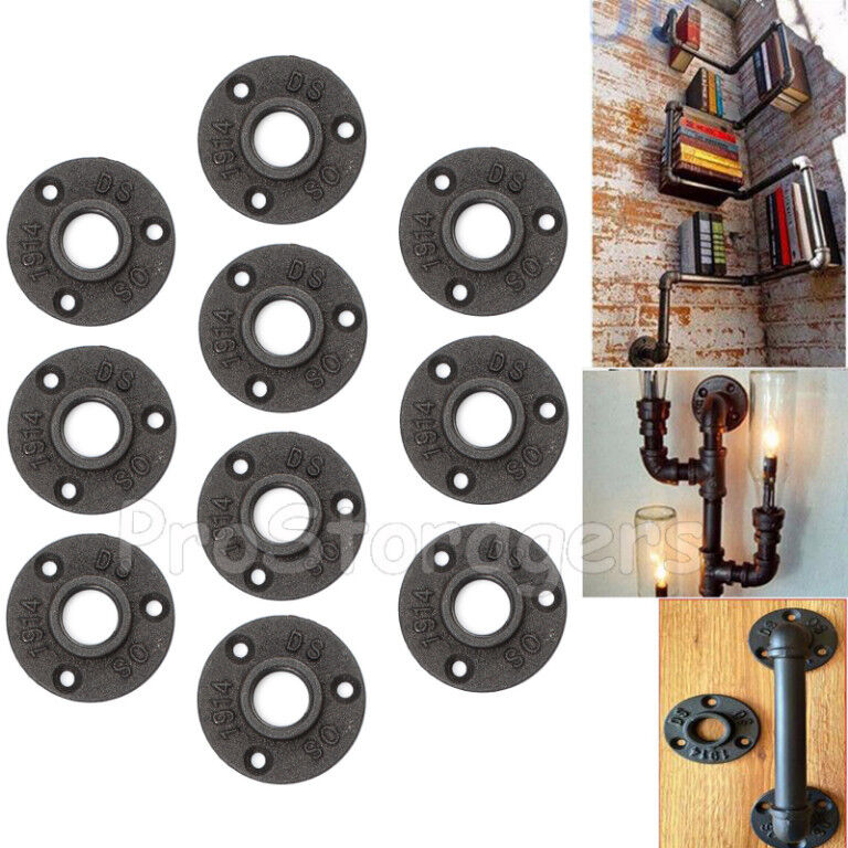 Quot flange malleable iron pipe fittings wall floor