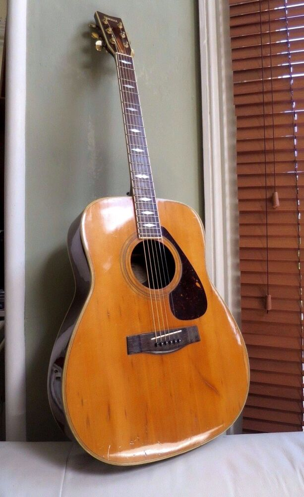 Beautiful yamaha fg 375 s acoustic guitar 1970s one of for Yamaha acoustic guitar ebay