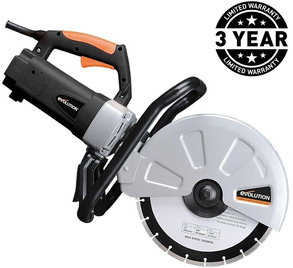 15 Amp Portable Concrete Cut Off Saw Corded Power Tool 12