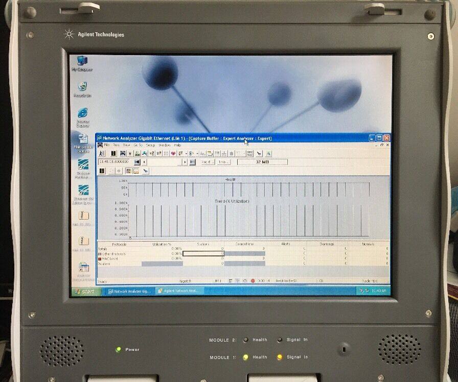 Agilent J6804a Dna Keysight Distributed Network Analyzer Ex J6851a Working Hats