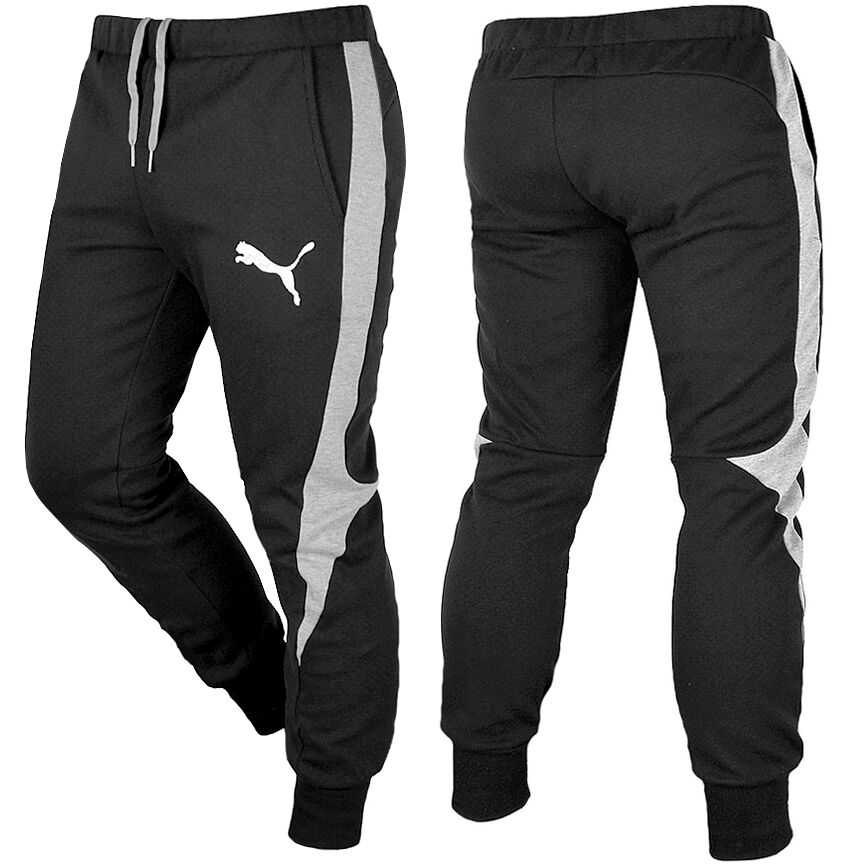 puma evostripe herren jogginghose trainingshose sweat hose. Black Bedroom Furniture Sets. Home Design Ideas