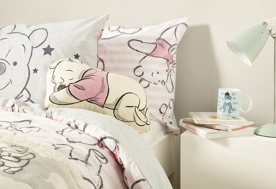 Disney Winnie The Pooh Single Duvet Cover Set Blanket