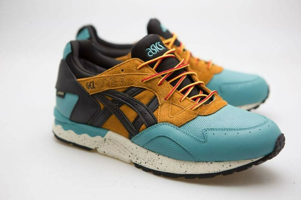 b530e25b7e965 Asics Tiger Men Gel-Lyte V G-TX teal kingfisher black HL6E2-4890