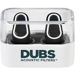 Kyпить DUBS Acoustic Filters 12 dB Noise Reduction, Hearing Protection Ear Plugs - Gray на еВаy.соm