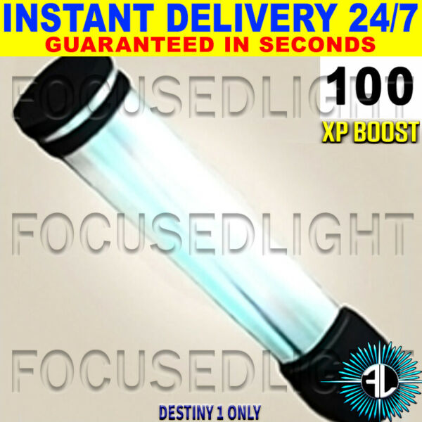 Royaume-UniDESTINY 1 XP BOOST 100 FOCUSED LIGHT ~ INSTANT DELIVERY  24/7
