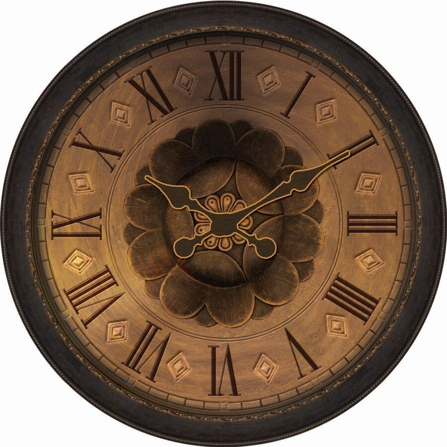 Analog Round Indoor Wall Clock Indoor Decor Oversized