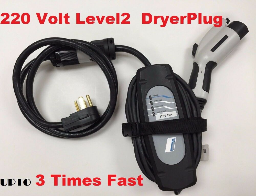 bmw i3 i8 level 2 electric car battery ev charger plug in 220 240v 20a 23 39 long ebay. Black Bedroom Furniture Sets. Home Design Ideas