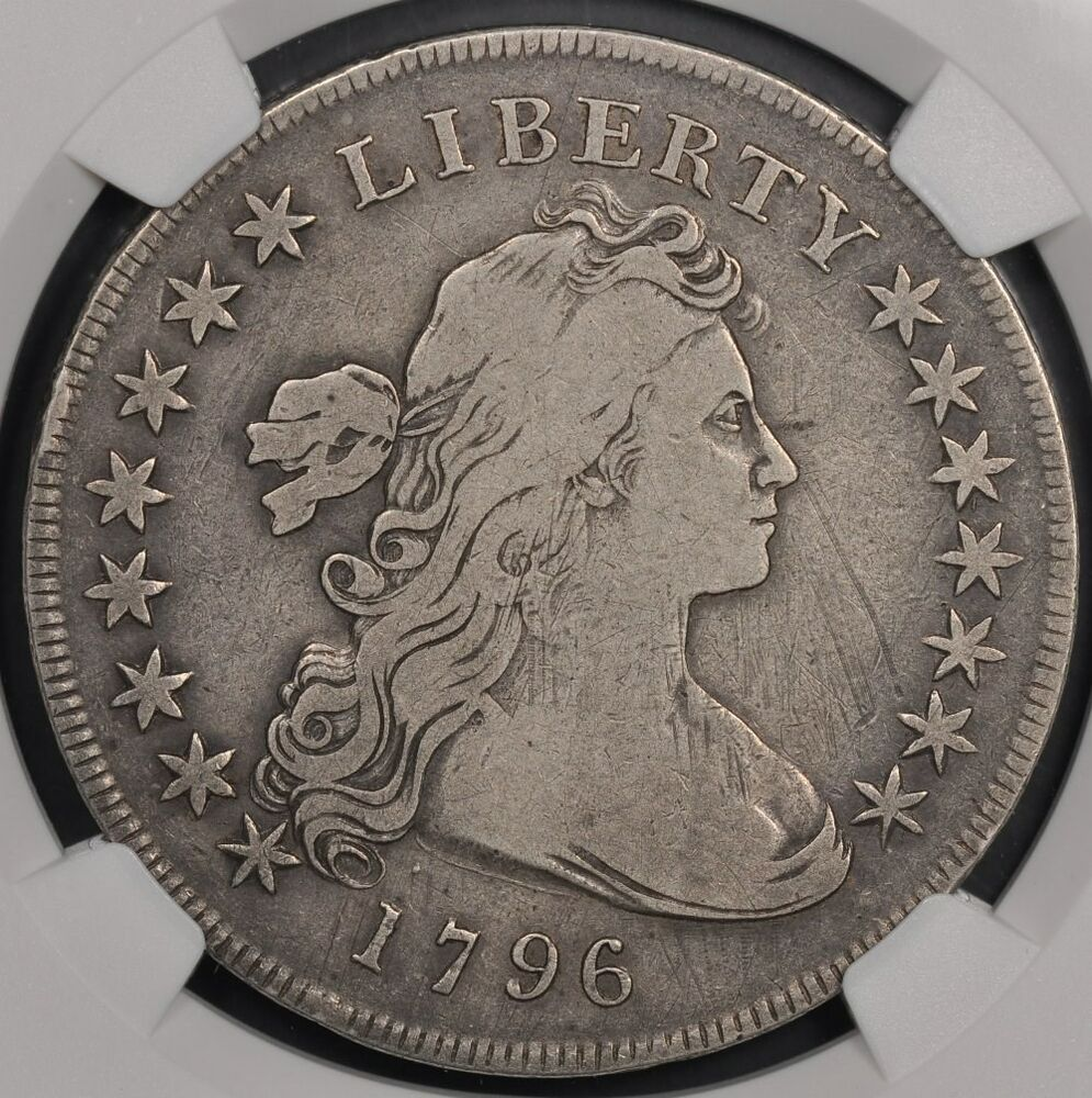 1796 Ngc Fine Details Draped Bust Silver Dollar S 1 Nice