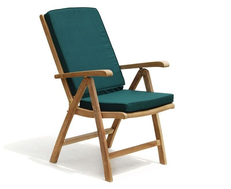 Merveilleux Tewkesbury Garden Reclining Chair   Sustainable Teak Recliner   Cushions  Option