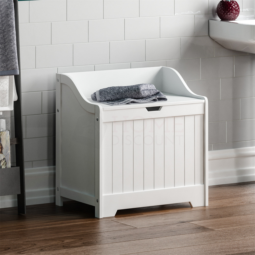 Priano bathroom laundry cabinet storage bin chest basket for White bathroom chest