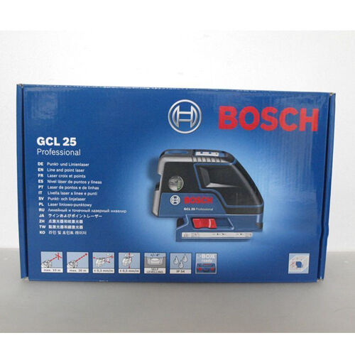 bosch gcl25 professional five point self leveling alignment laser cross line ebay. Black Bedroom Furniture Sets. Home Design Ideas