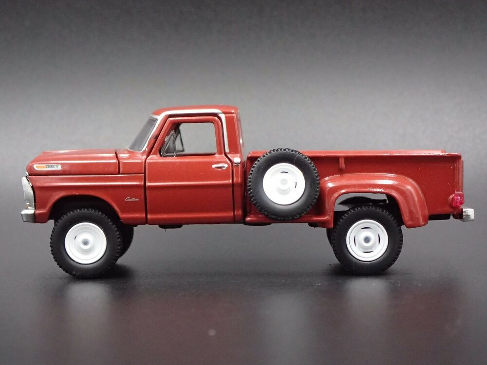 Ford 4x4 Model : Ford f custom truck diecast collectible