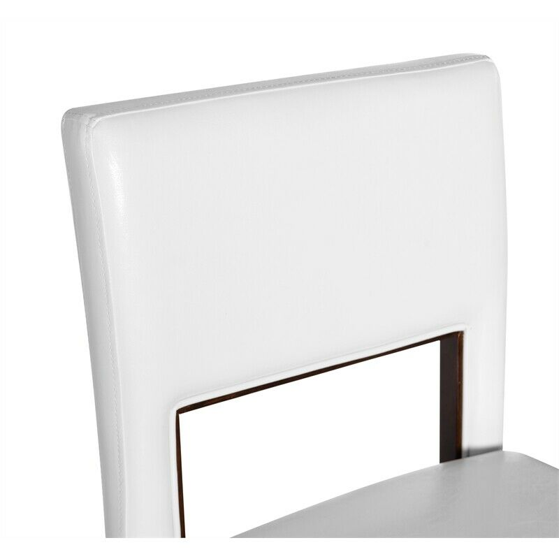 Linon Vega 30 Quot High Bar Stool With Back Without Arms