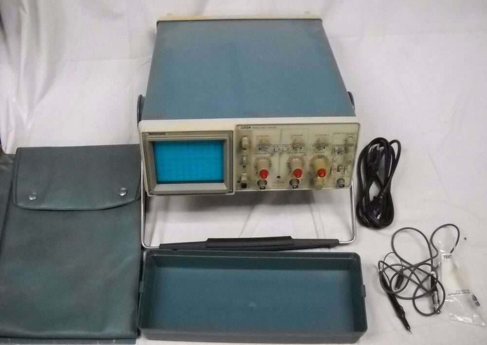Tektronix Analog Oscilloscope : Vintage tektronix a analog oscilloscope w scope ebay