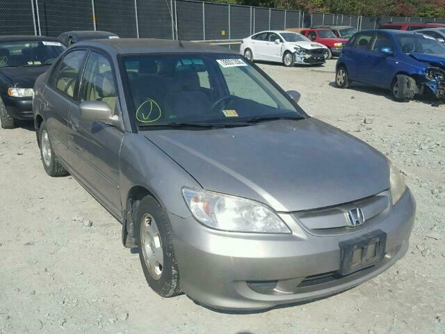 Details About 01 05 Honda Civic Sedan 4dr Gold Electric Driver Left Rear Door Oem Warranty