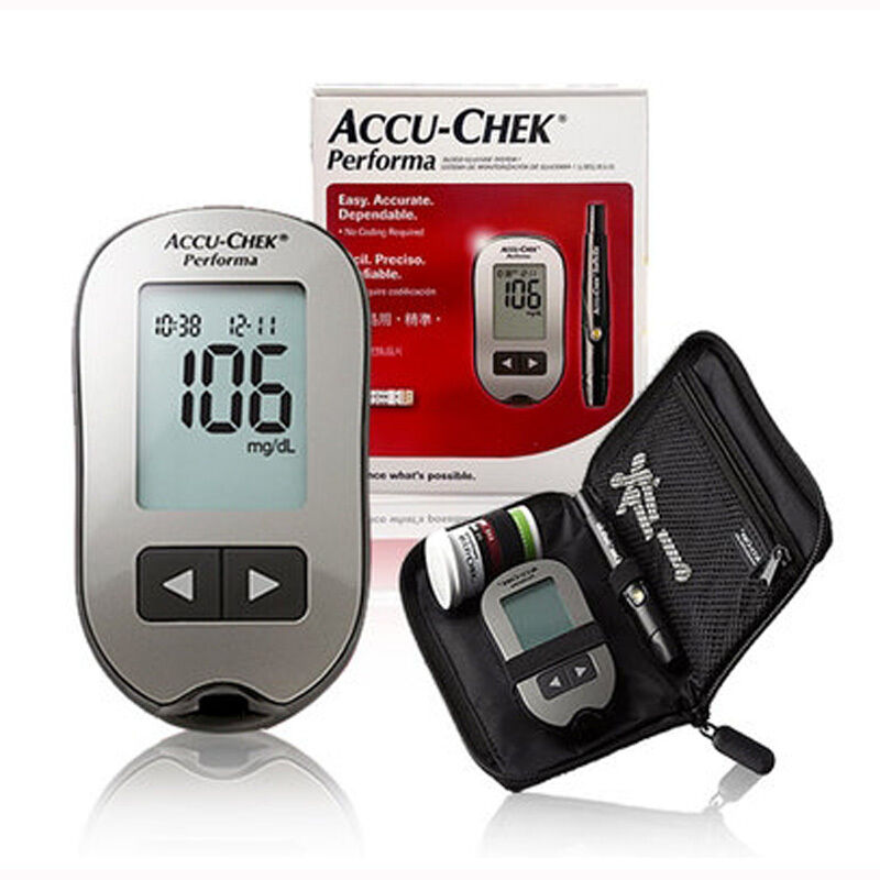 Roche Accu-Chek NEW Performa Blood Glucose Meter NEW Kit ...