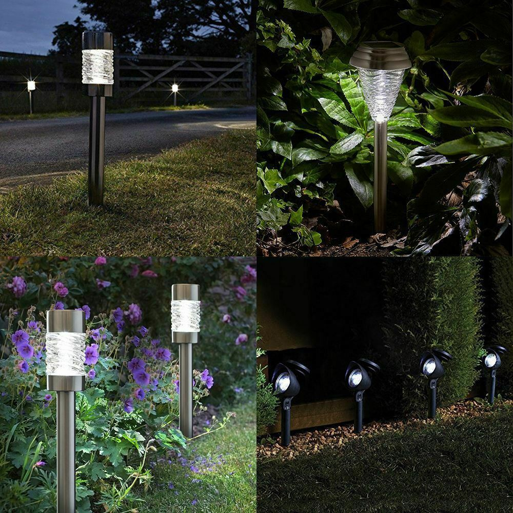 Solar Powered Garden Lights And Ornaments Garden Amp Patio