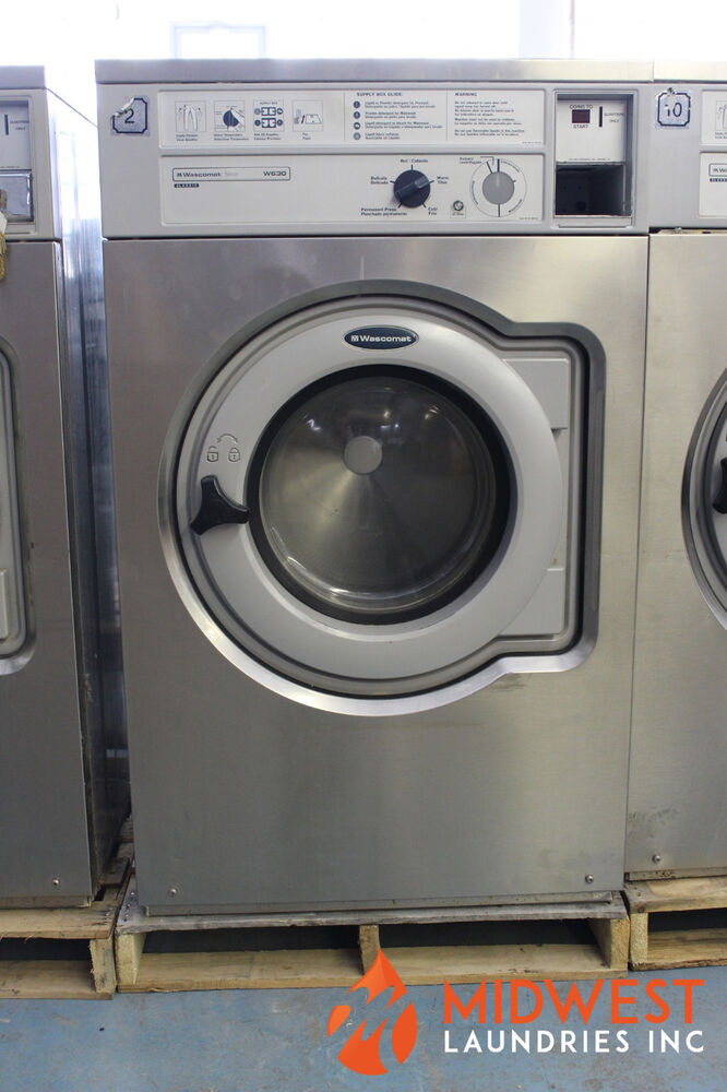 Coin Operated Wascomat W630 Washers Working Condition 10