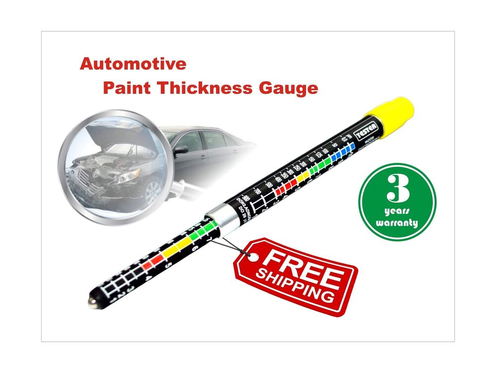 Car Paint Thickness Gauge